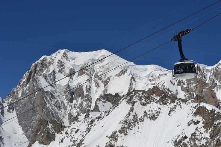 Monte Bianco - Skyway - Courmayeur - capitale dell'alpinismo mondiale